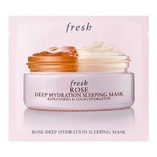 Rose Deep Hydration Sleeping Mask 8ml., Sachet